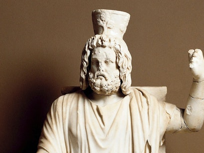 Archaeology Museum and Temple of Serapis Sinop  Turkey