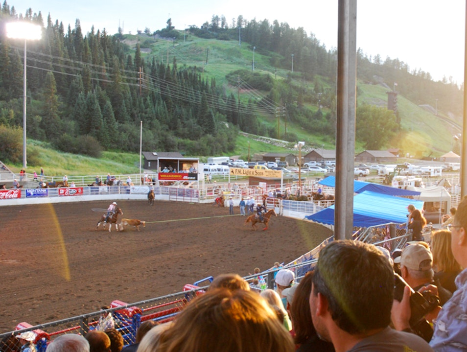Pro Rodeo Summer Series in Steamboat Springs, Colorado