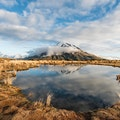 Pouakai Crossing Egmont National Park  New Zealand