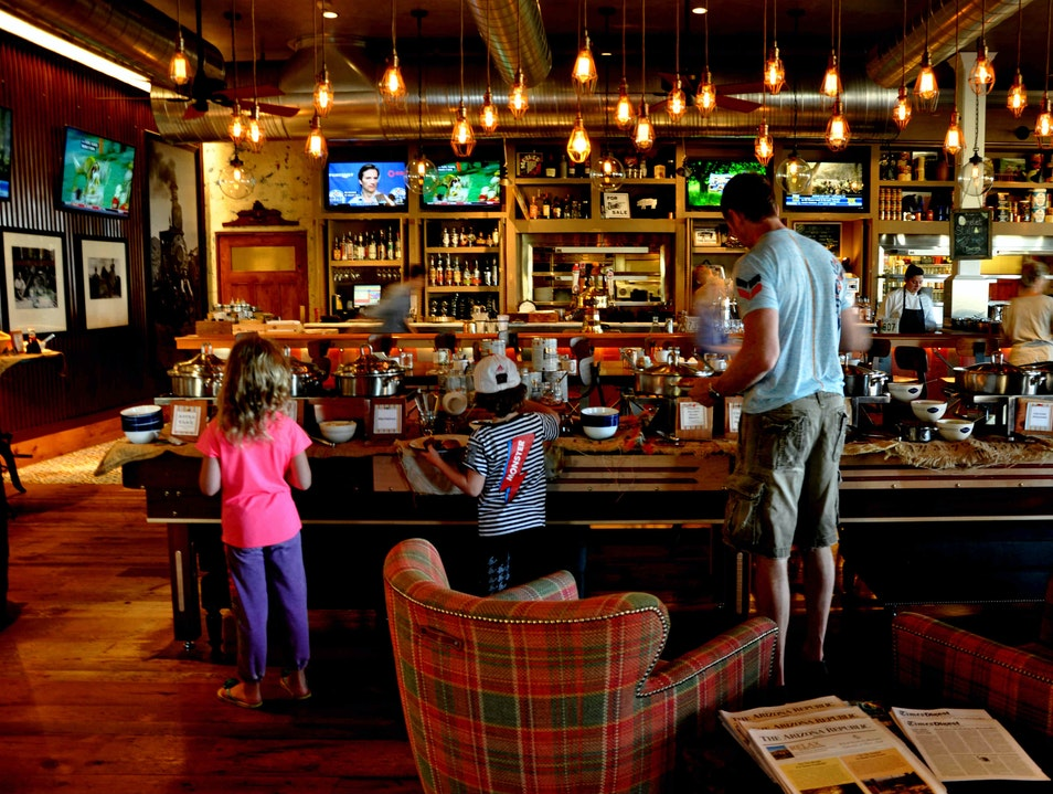 A southwest-style canteen, with craft beer from 50 states Scottsdale Arizona United States