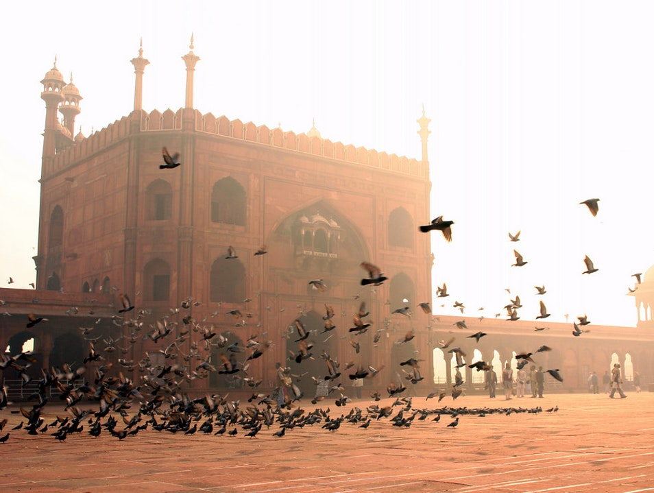 India's Largest Mosque New Delhi  India