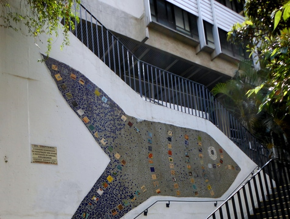 Pinheiros- a bairro of galleries, good food, quirky shops, and wonderful walking