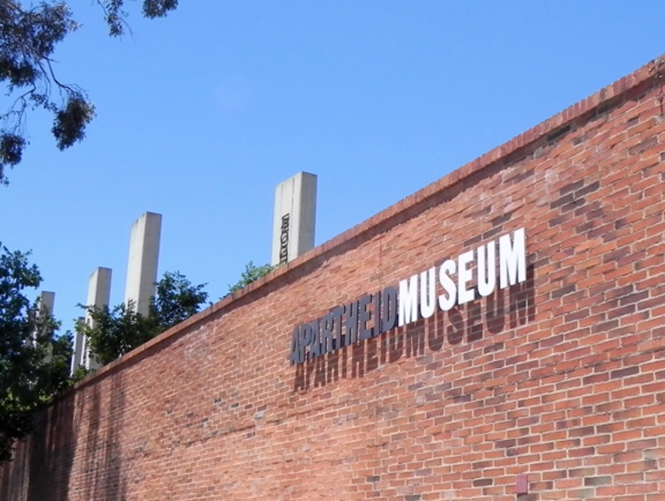 October 8, morning: Private Access to Apartheid Museum