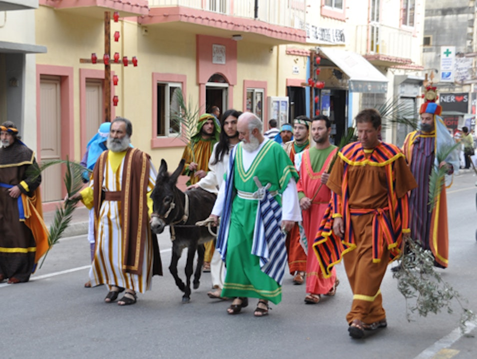 Good Friday Goes Exotic in Zebbug, Malta