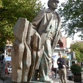 Statue of Lenin Seattle Washington United States