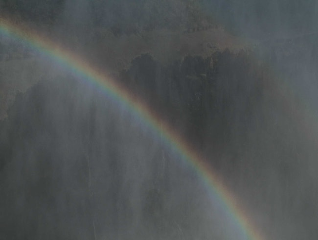 Rainbows at Victoria Falls