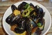 Luscious Mussels in Green Curry Sacue