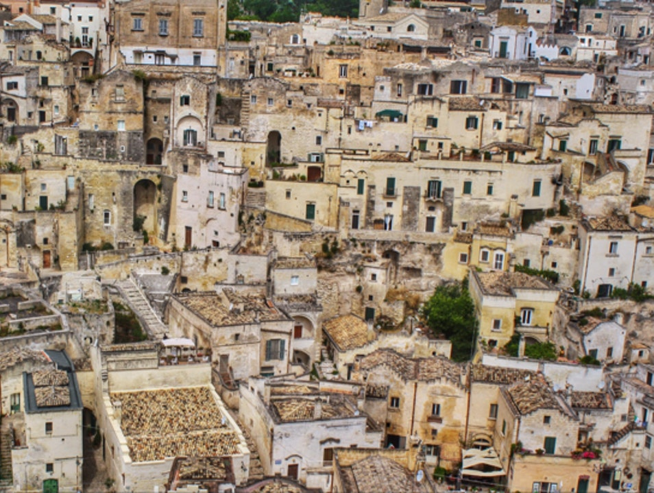 Get Lost in the Sassi di Matera, Italy Matera  Italy