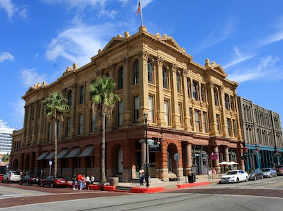 The Strand Historic District Galveston Texas United States