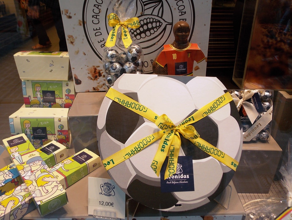 Chocolate World Cup Brussels  Belgium
