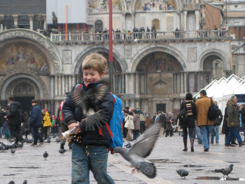 Vacation in Venice with Kids