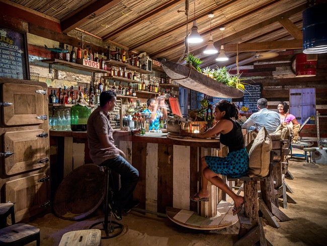 Sipping Rum at the Rum Shed
