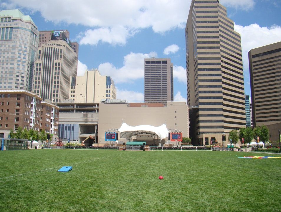 Enjoy the Outdoors Downtown Columbus Ohio United States