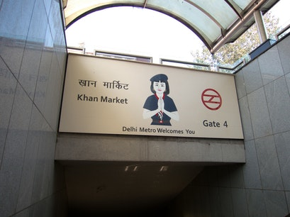 Khan Market New Delhi  India