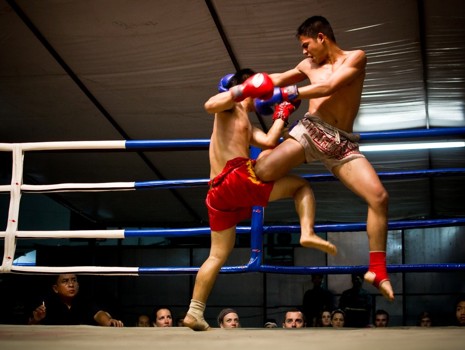 Thai boxing in Chiang Mai