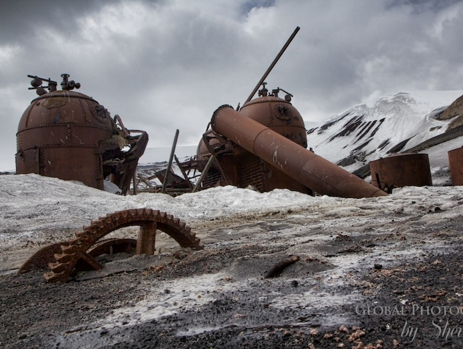 Visit a Whale of a Ghost Town   Antarctica