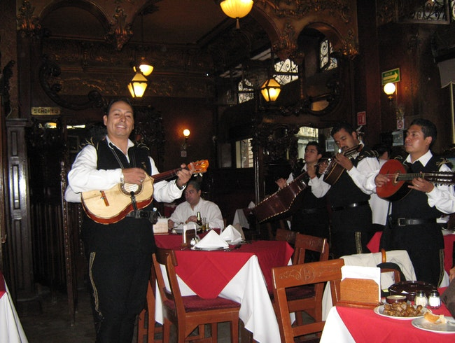 La Ópera Bar in Mexico City