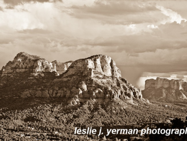 View from Boynton Canyon, Sedona, AZ