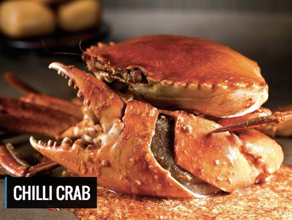 World Famous Chili Crab Singapore  Singapore