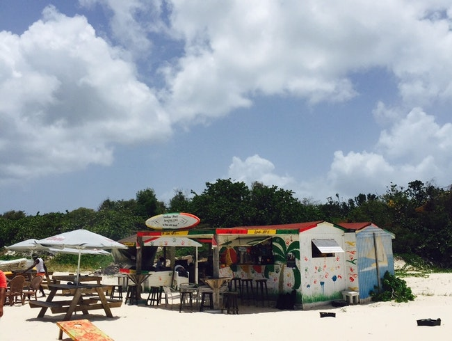 more than a beach shack in Anguilla