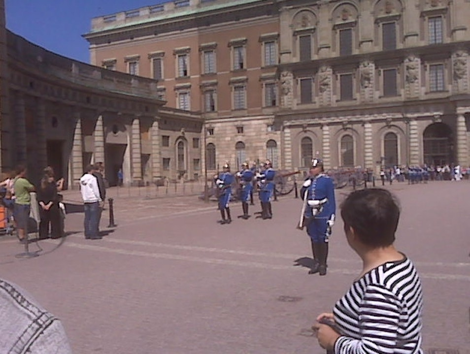 Changing of the Guard Stockholm  Sweden
