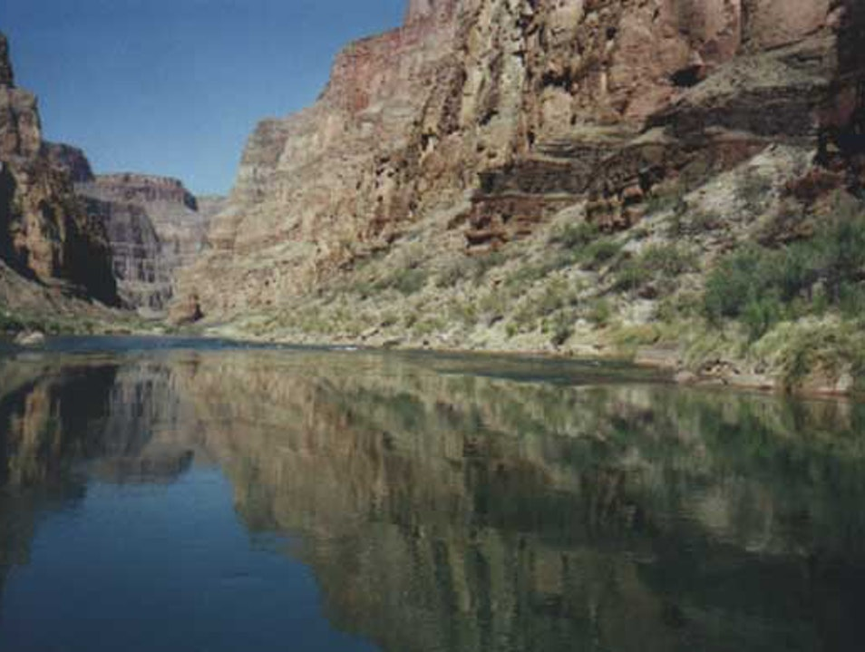 Rafting the Grand Canyon - Rapidly Approaching Bliss Marble Canyon Arizona United States