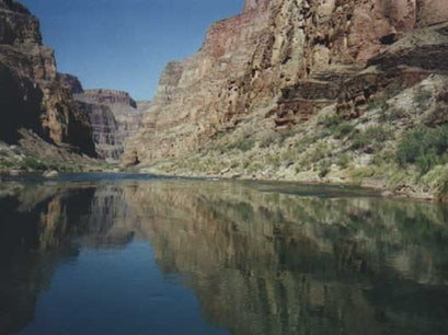Rafting the Colorado River Marble Canyon Arizona United States