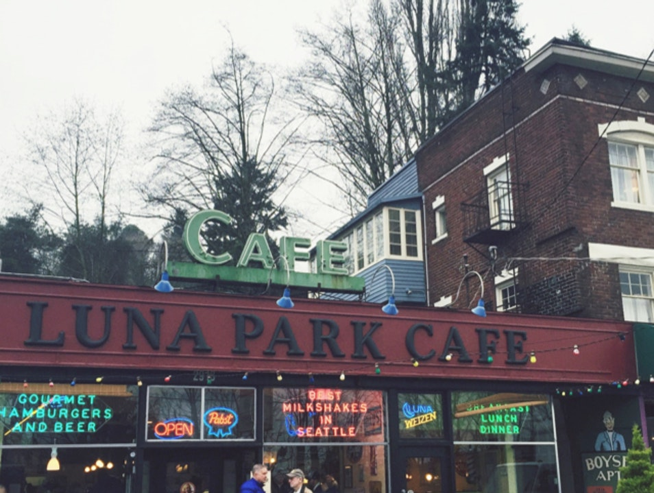 Breakfast at Luna Park  Seattle Washington United States