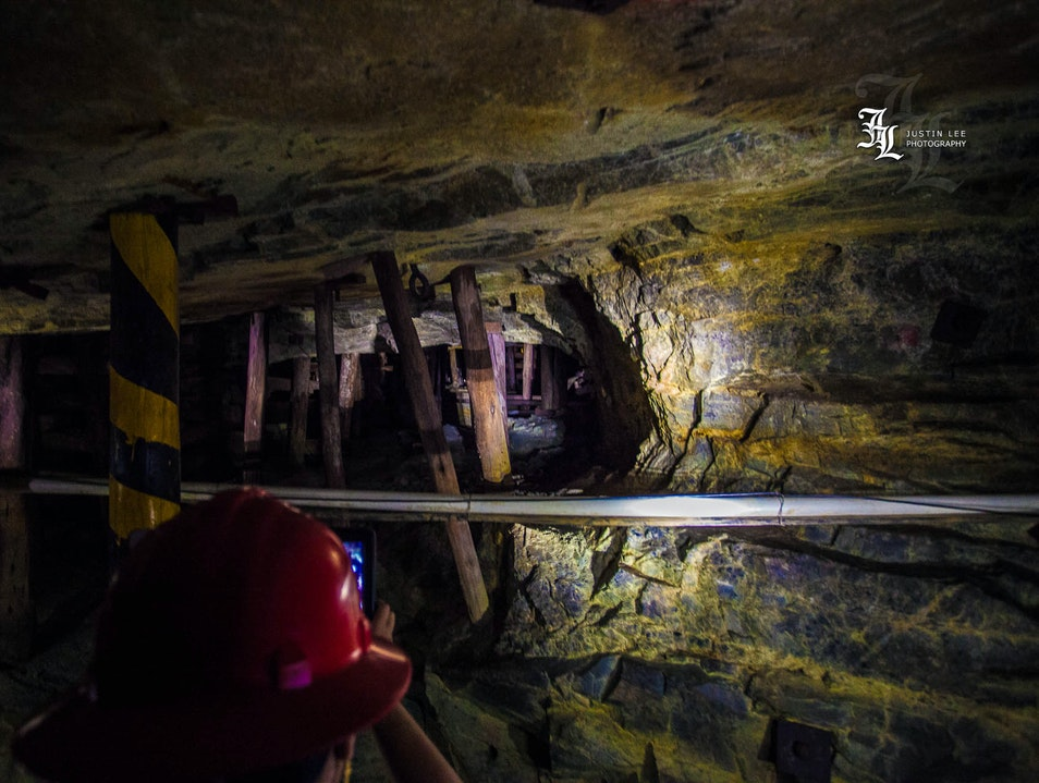 Descend into the Dark of a Working Gold Mine in Search of Gold