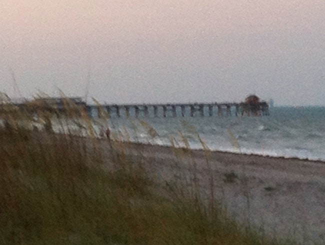 Twilight at Cocoa Beach