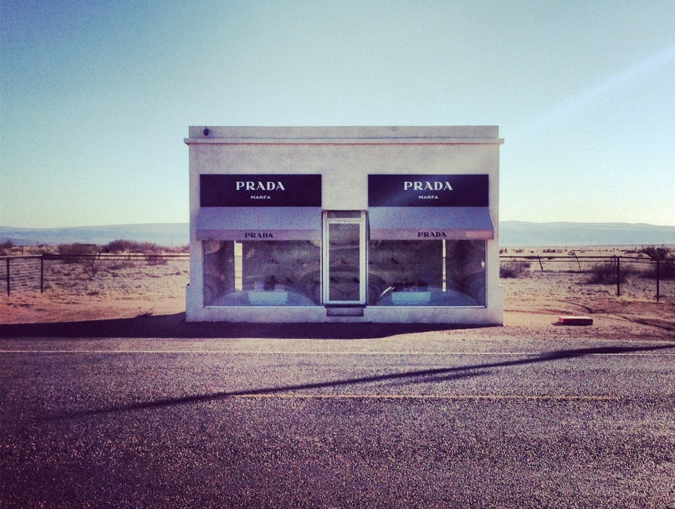 Prada in West Texas Valentine Texas United States