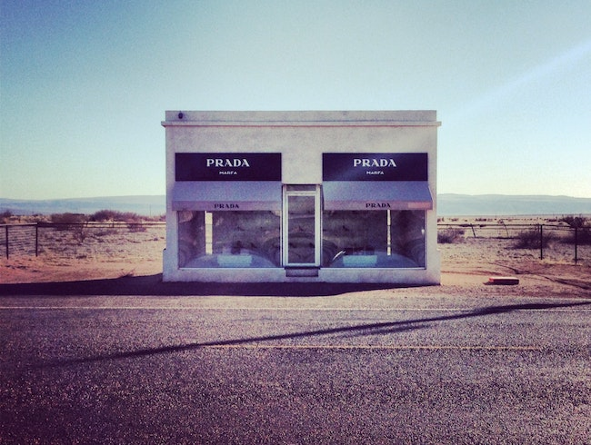 Prada in West Texas