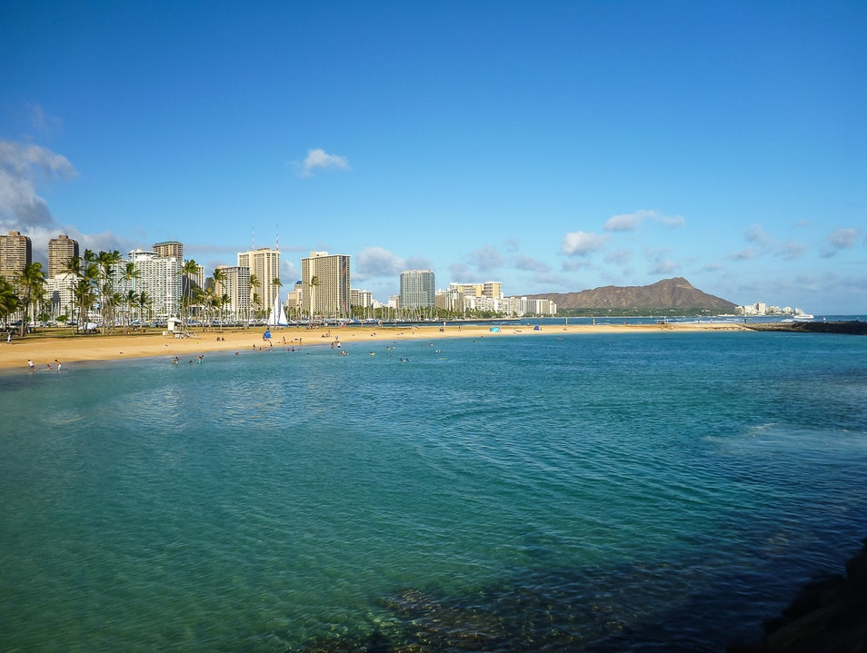 A Beach Park Getaway from the City Honolulu Hawaii United States