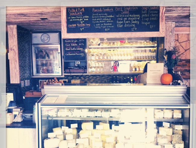 Your Neighborhood Wine and Cheese Shop, just like in Europe.