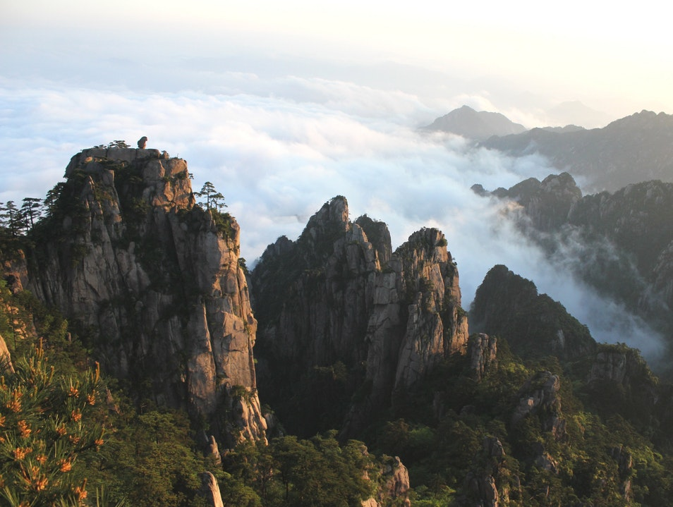 Sea of Clouds Huangshan  China