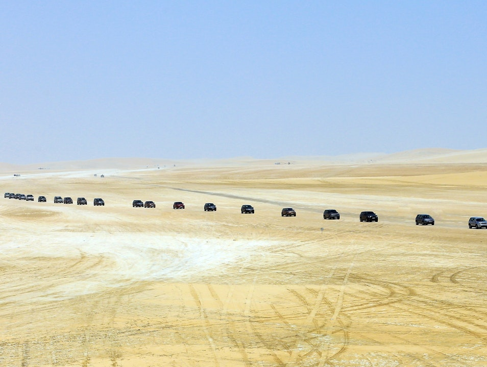 Dune Bashing, Sand Surfing, or Swimming? All of the Above! Al Wakrah  Qatar