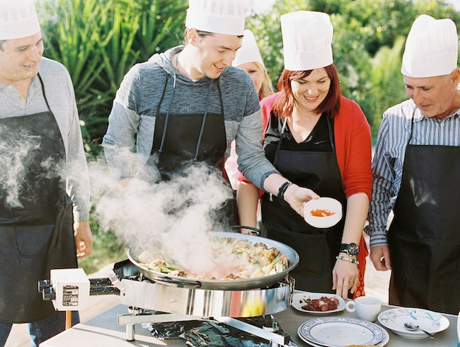 Authentic Valencian Paella Cooking Class