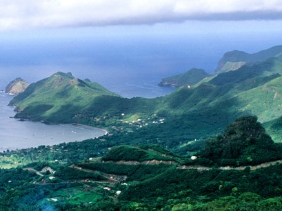 Colette Bay Taiohae  French Polynesia