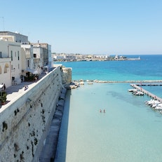 Beach in Otranto