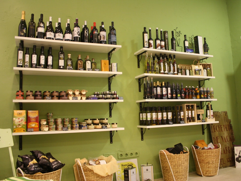 Shopping for Olive Oil and More in Madrid