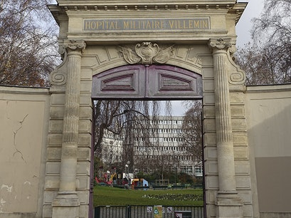 Jardin Villemin Paris  France