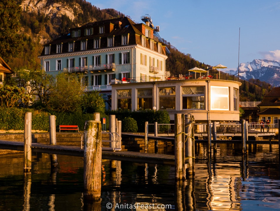 A Mount Rigi lakeside retreat Vitznau  Switzerland