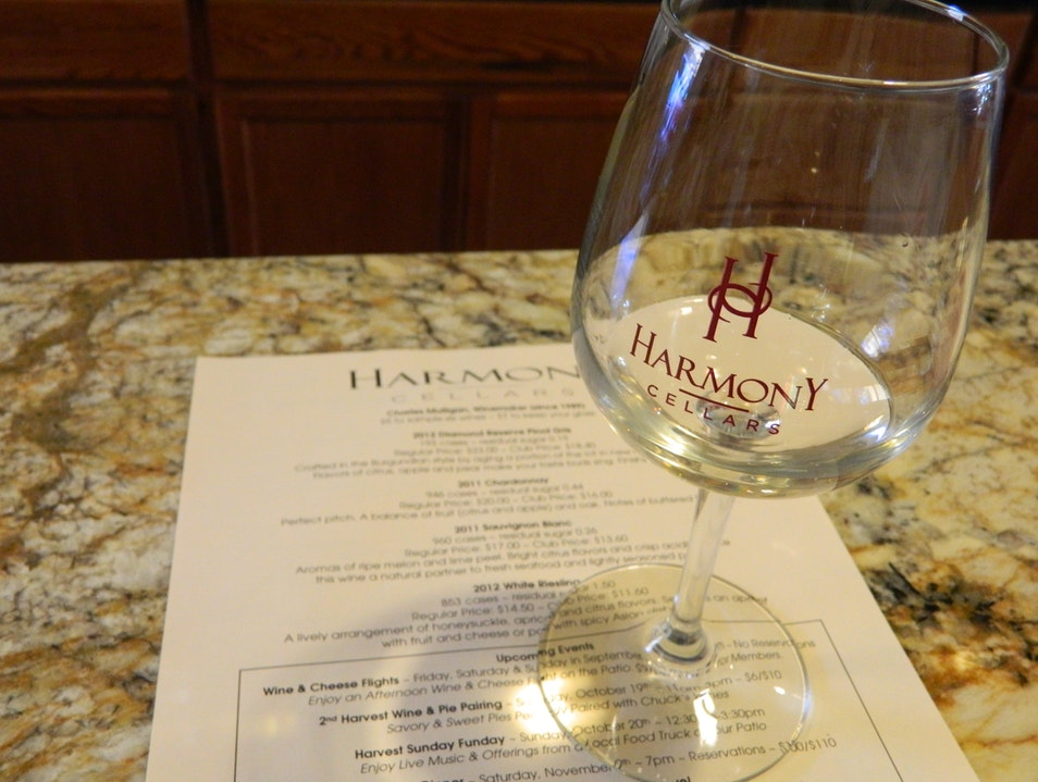 Wine Tasting in Harmony, California Harmony California United States