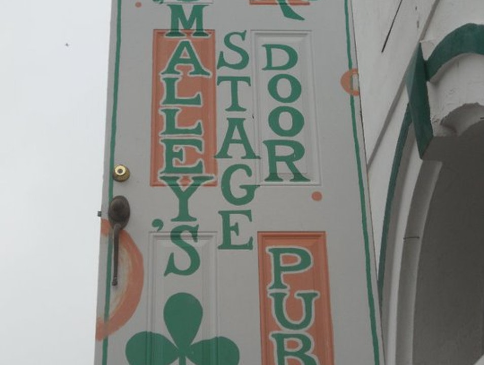 Pull Up a Stool at O'Malley's Galveston Texas United States