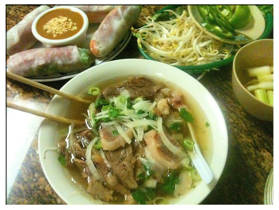 Where to eat pho, banh mi, and spring rolls