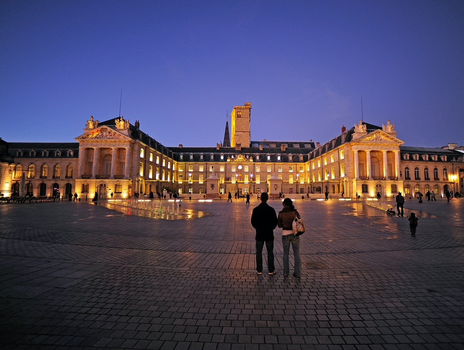 Palace of the Dukes of Burgundy   France