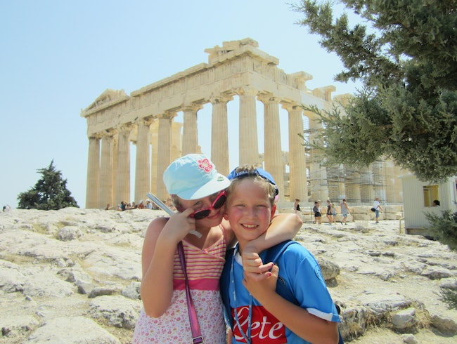 Awesome Athens with Kids