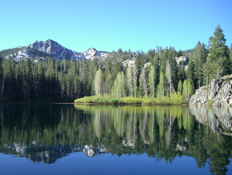 The Sierra Buttes Lakes Basin Sierra City California United States