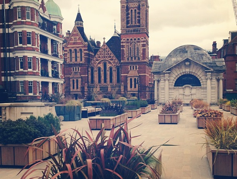 Brown Hart Gardens, an oasis in the heart of London's urban wilderness London  United Kingdom