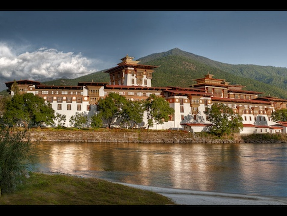 Palace of Great Happiness, Bhutan Lobeysa  Bhutan